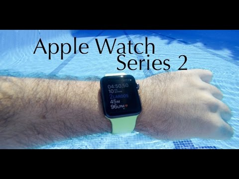 Análisis Apple Watch Series 2, con GPS y sumergible en agua 50 metros