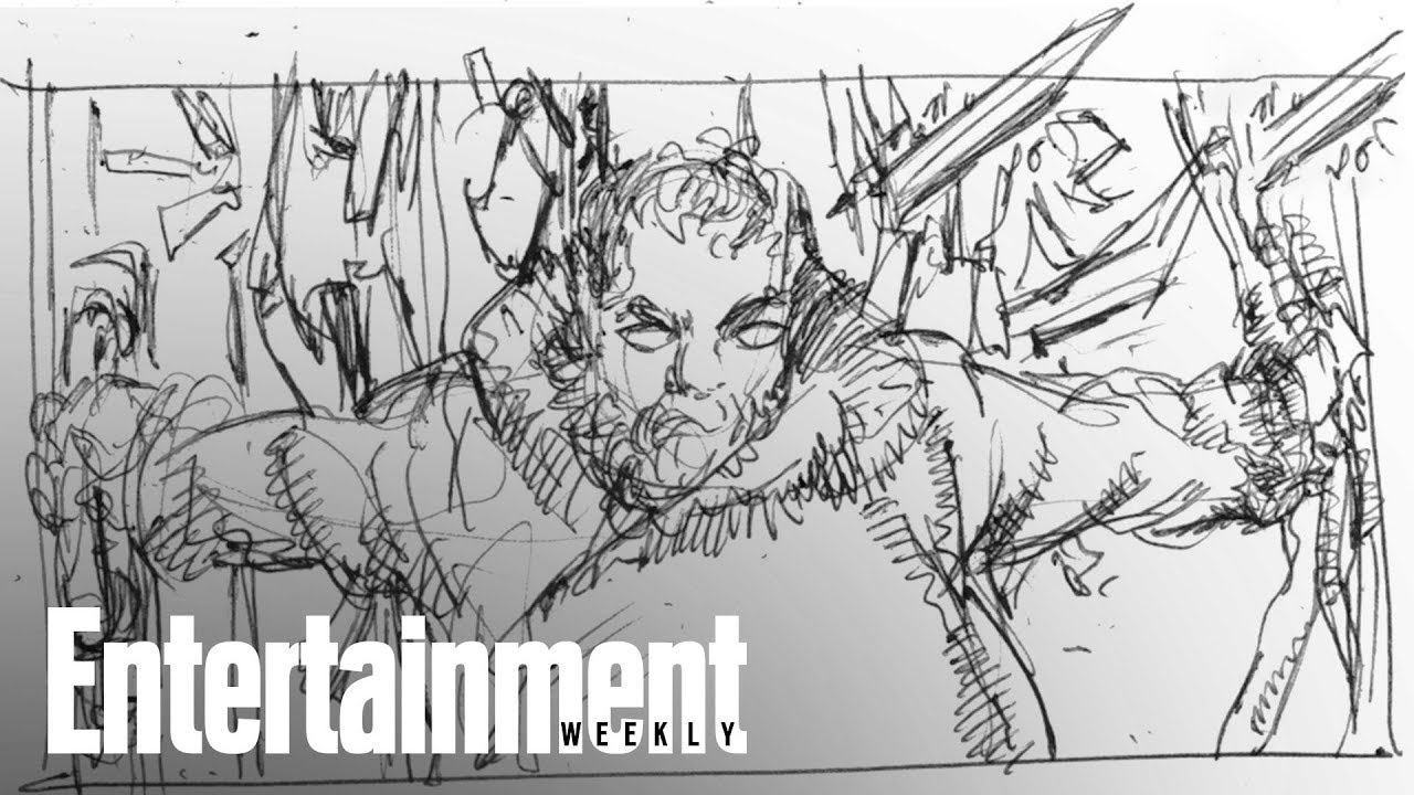 Game Of Thrones: Storyboards From Hodor's Final Moments
