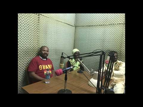 GHANA RADIO Broadcast with Apostle Demontae Edmonds F4TN