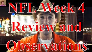 Andrewsfootball NFL week 4 review and observations