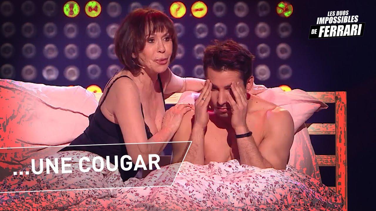 Jérémy Ferrari, Danièle Evenou et Guillaume Bats: Guillaume Bats est une cougar