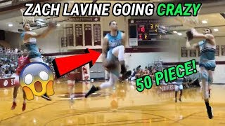 Zach LaVine DROPS 50 & SHUTS DOWN GYM With Between The Legs Jam! Zach Is BACK 😱