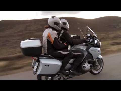 Scotland Motorcycle Tour On BMW R1200RT With Touratech's Herbert & Ramona Schwarz