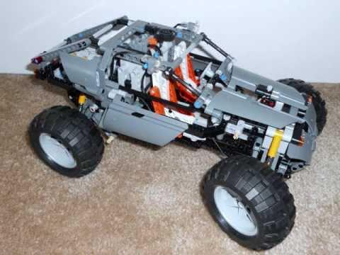 lego technic 8297 alternate model buggy youtube. Black Bedroom Furniture Sets. Home Design Ideas