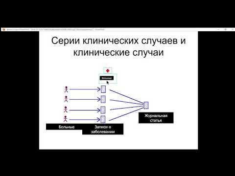 Дизайны медицинских исследований