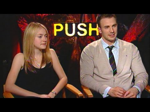 'Push' Dakota Fanning & Chris Evans Interview
