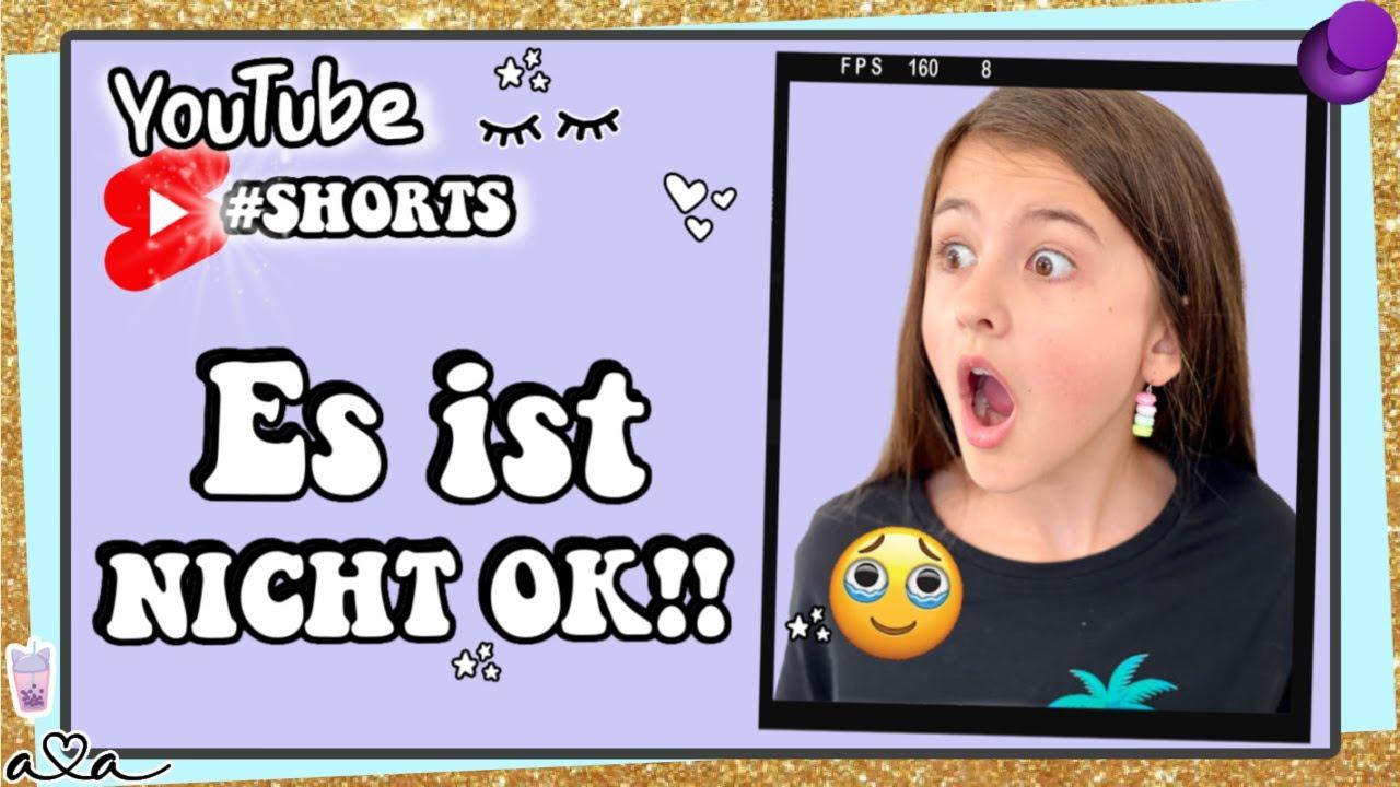 Es ist NICHT OK 😭 Alles Ava #shorts