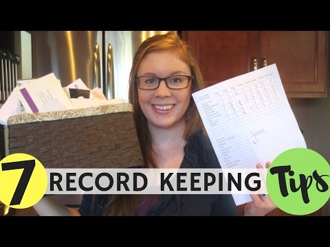 7 Record Keeping Tips For Small Business Owners