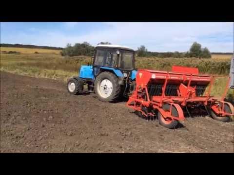 Посев пшеницы 2016