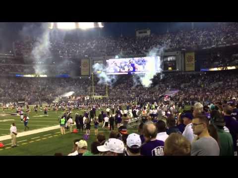 Baltimore Ravens M&T Bank Stadium Homecoming 2012