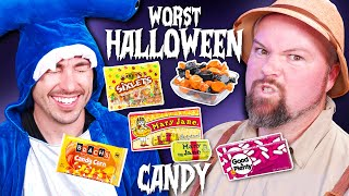 Trying The Worst Halloween Candy Of All Time!