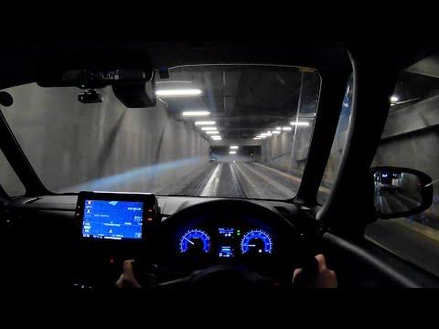 【Test Drive】2020 New NISSAN ROOX HighWaySTAR 4WD 660cc Turbo - POV Night Drive