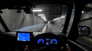 【Test Drive】 2020 New Nissan ROOX HighWaySTAR 4WD 660cc Turbo - POV Night Drive
