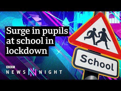 Coronavirus: Why are so many children still in England's schools? - BBC Newsnight
