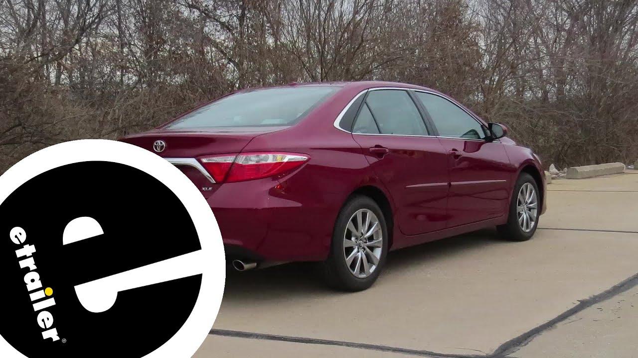 Trailer Hitch Installation 2017 Toyota Camry Curt Etrailer