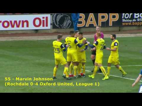 All 100 Oxford United goals 2016/17