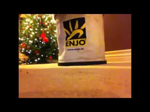 Cleaning cat puke off carpet with just ENJO and water in a minute