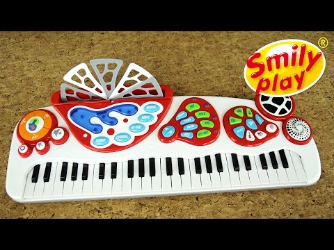 Smily Play Keyboard Pianino