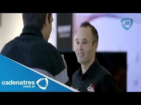 ¡¡¡SORPRENDENTE BROMA!!! Andrés Iniesta se hace pasar por vendedor de teléfonos from YouTube · Duration:  2 minutes 34 seconds