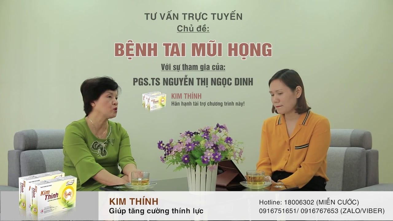 Bị viêm tai giữa mãn tính thủng nhĩ nên điều trị như thế nào? PGS.TS Nguyễn Thị Ngọc Dinh tư vấn