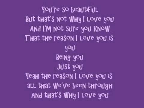 Avril Lavigne - I love you (with Lyrics) :D