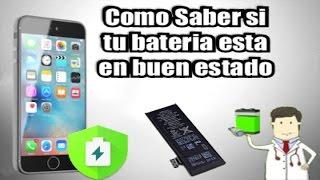 saber el estado de la bateria del iphone/ipod sin jailbreak