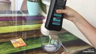 Tutkalsız boraksız slime yapımı (şampuan tuz kabartma tozu)