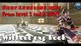Toram online tips fast way to level up level cap