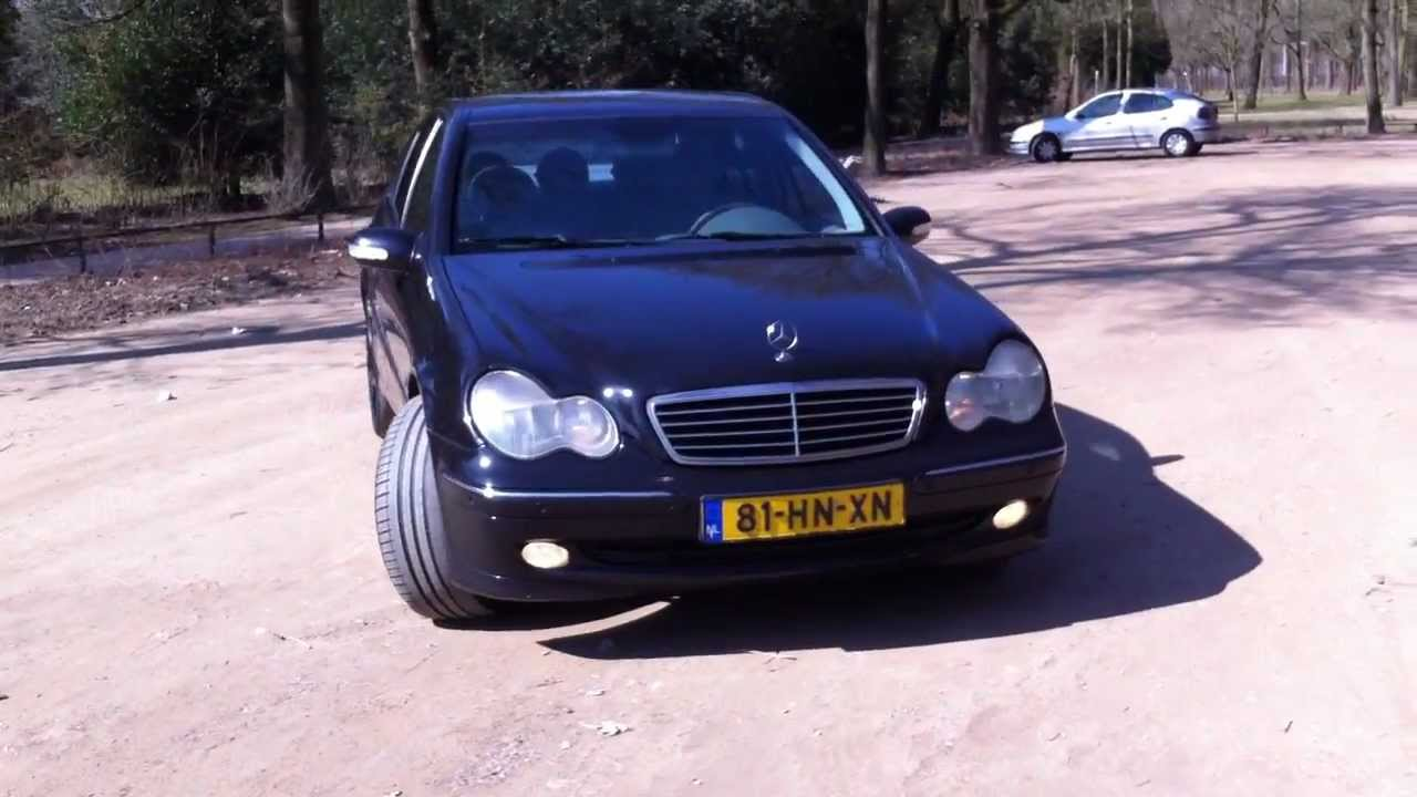 w203 mercedes c220 cdi 2001 black automatic transmission youtube. Black Bedroom Furniture Sets. Home Design Ideas