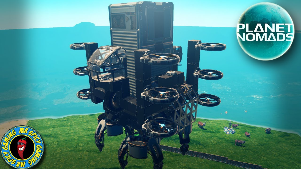 JEU GRIFFE POUR GAGNER - Planet Nomads Gameplay S2 Ep41 + vidéo