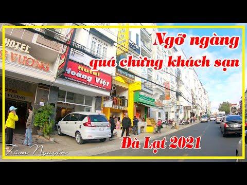 KHÁCH SẠN ĐÀ LẠT 2021 ✅ NGỠ NGÀNG QUÁ CHỪNG KHÁCH SẠN gần chợ ở đường Nguyễn Chí Thanh | Tâm Nguyễn