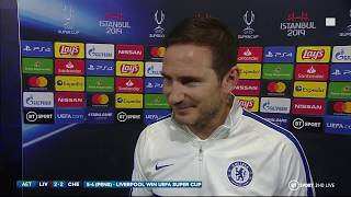Lampard: I've nothing but pride and confidence in my team