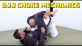 How to make your BJJ chokes tighter and more effective using proper...