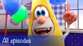 Booba - All Episodes Compilation + 8 Food Puzzles - Cartoon for kids