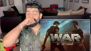 WAR Teaser Reaction | Hritik Vs Tiger | RajDeepLive |