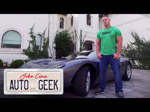 Pedal to the metal in John Cena's RARE Ford GT - John Cena: Auto Geek