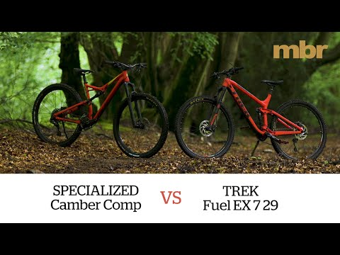 b0586f921b7 Specialized Camber Comp VS Trek Fuel EX 7 29 | MBR - YouTube