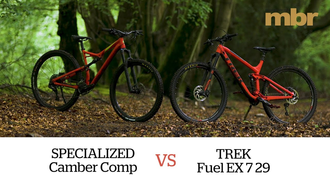 a7581a20f75 Specialized Camber Comp VS Trek Fuel EX 7 29 | MBR. Mountain Bike Rider