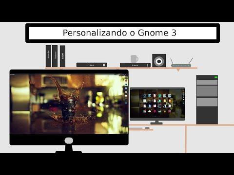 Personalização do Gnome 3