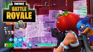 FORTNITE BATTLE ROYALE: Guerra de Comida [ Xbox One - Gameplay PT-BR ]