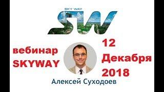 12.12.2018г. Вебинар SKYWAY по Средам. Всё самое актуальное и интересное в мире SkyWay.