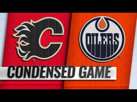 12/09/18 Condensed Game: Flames @ Oilers