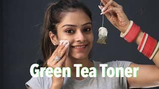 Green Tea Toner   Instant Glowing Skin   Skincare Tutorial   Foxy Makeup Tutorials   Green Tea Bag