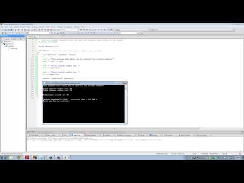 "C++ Programming Tutorials: 2 - Writing your First Code ""Hello World"""