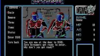 PC-88 The Screamer (1984 Magical Zoo) Gameplay 2 - English translation by gargatar