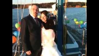 Свадьба на яхте Любава - Роман и Татьяна