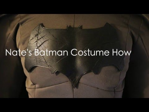 Nate's Batman Costume How-To