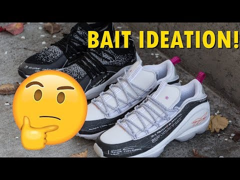 BAIT x Reebok Ideation Department Pack, Question Mid Snake 2.0! DMX Run 10 and DMX Fusion