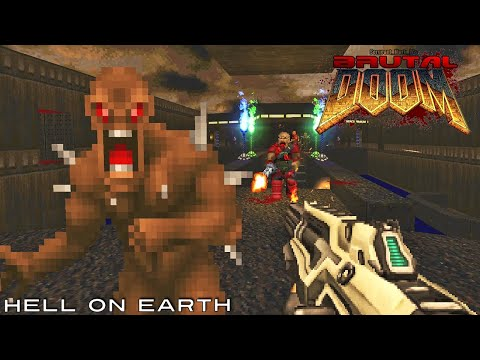 Brutal Doom 2016 Weapons + Maps Of Chaos #1
