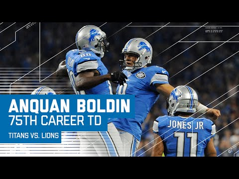 Anquan Boldin Hauls in 75th Career TD! | Titans vs. Lions | NFL